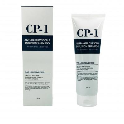 Шампунь для волос ПРОТИВ ВЫПАДЕНИЯ ESTHETIC HOUSE CP-1 Anti-hair loss scalp infusion shampoo 250 мл: фото
